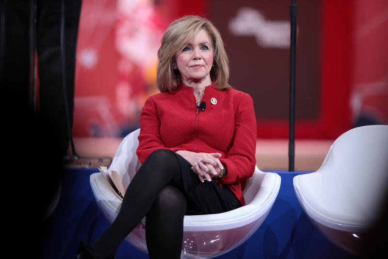Congressman Marsha Blackburn was one of the leading co-sponsors of legislation that made it harder for the Drug Enforcement Agency to stop suspicious drug shipments.