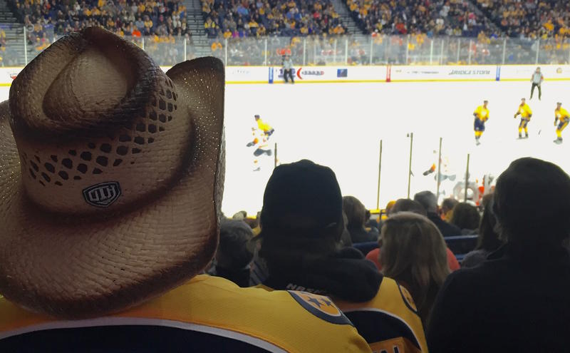 Nashville Predators hockey cowboy hat