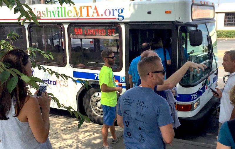 Nashville bus transit