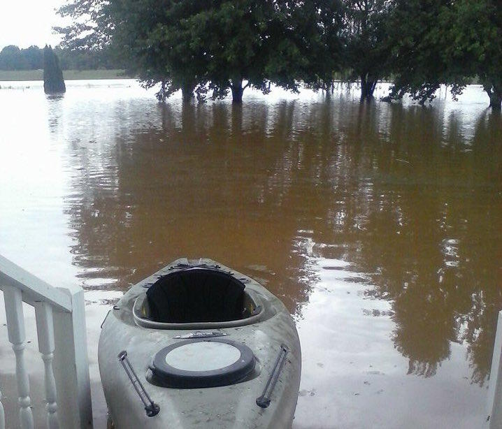 There have been several episodes of flash flooding, including this event in Robertson County the morning of July 7.