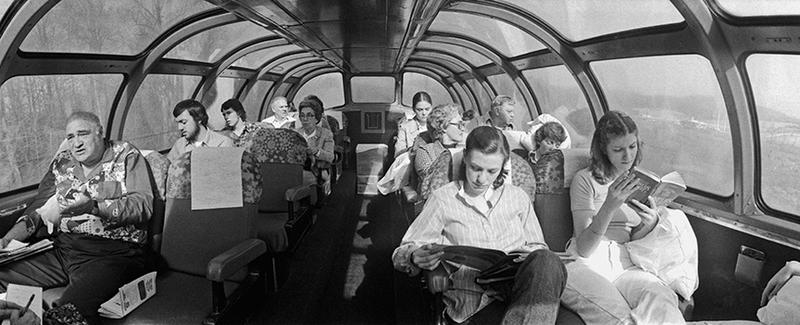 """The Floridian advertised its """"domed coach"""" with its 360-degree views."""
