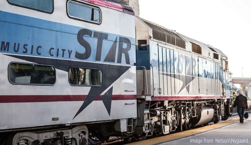 Music City Star Nashville train