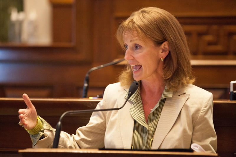 Democrats say House Speaker Beth Harwell's efforts to shorten the legislative session caused an error in the state's new DUI law.