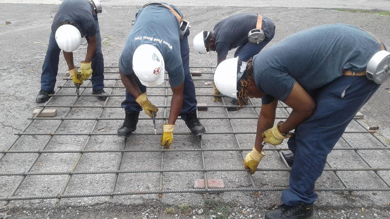 As construction companies struggle to find skilled workers, a Nashville non-profit has teamed up with the Ironworkers union to train young men who've been incarcerated how to reinforce concrete.
