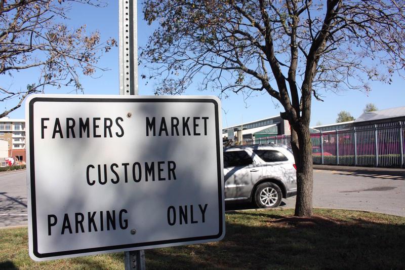 Nashville Farmers Market parking