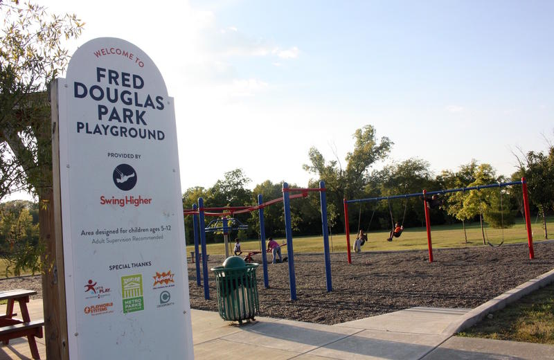 There's some mystery about who Fred Douglas Park was named for.