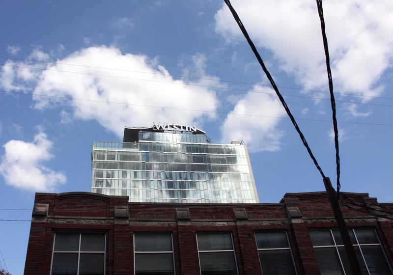 A new Westin hotel near the Music City Center will add 454 rooms to the city's urban core.