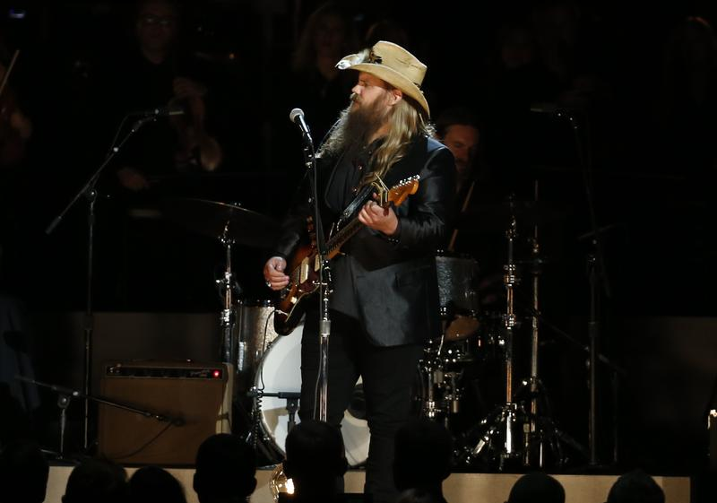 Chris Stapleton performed and won Male Vocalist of the Year.