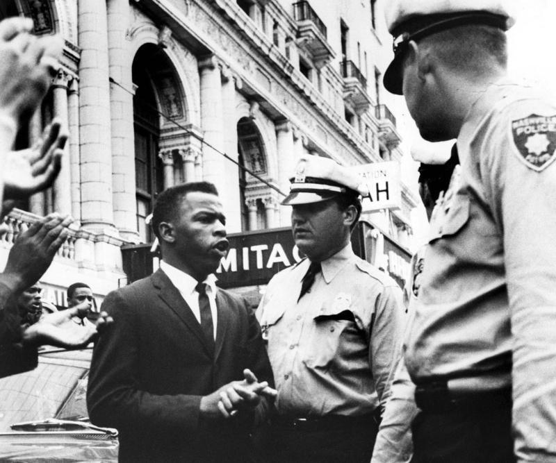 John Lewis Nashville civil rights photo