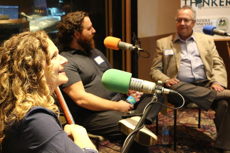 Abigail Washburn, Scott Baker and David Morales talk about their roles as interpreters at the Movers & Thinkers #8 live taping.