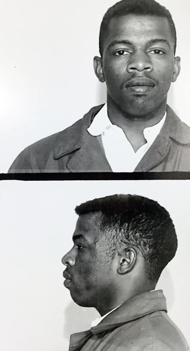 John Lewis arrest mugshot