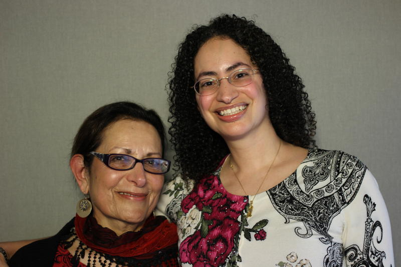 Dr. Maysoon Shocair Ali and her daughter, Yasmine Ali