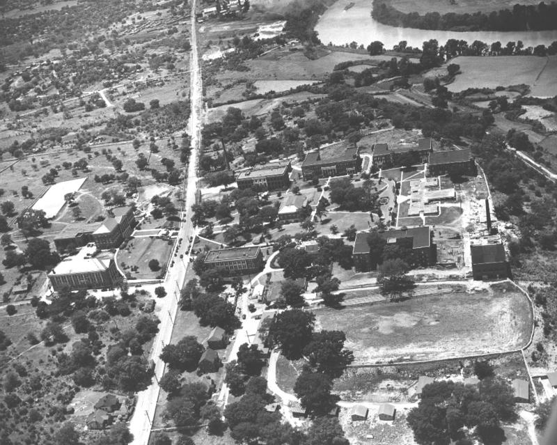 Tennessee State University's campus in 1965.