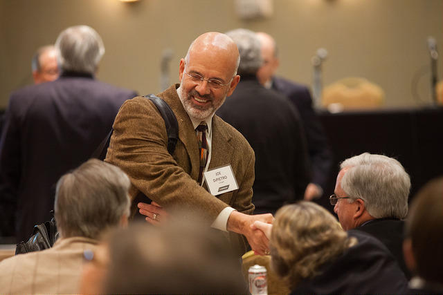 Joe DiPietro oversees the entire UT system, which includes its flagship campus in Knoxville.