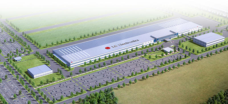 LG Electronics has proposed building an 829,000-square-foot manufacturing plant near Clarksville.