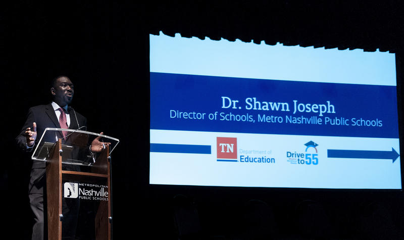 Superintendent Shawn Joseph appointed a 47-member transition team, which came up with 100 ideas for improving the district.