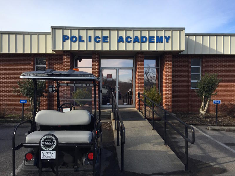 "Nashville Police Chief, Steve Anderson, says the Police Academy's use of Tactical Edge was ""an extreme oversight."""