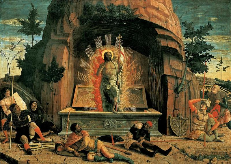 Andrea Mantegna, The Resurrection (1457-1459)