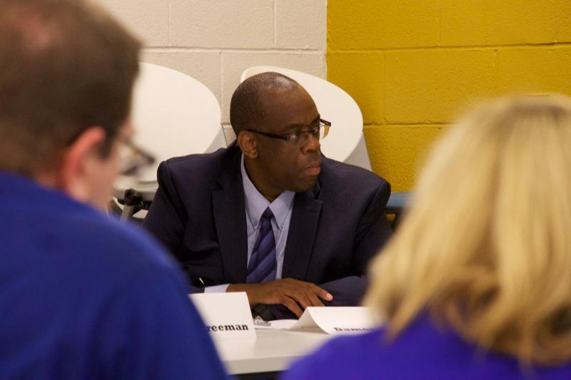 Damon Cathey is one of the four new community superintendents, overseeing schools in the McGavock, Stratford and Maplewood clusters. In his career, he has been a teacher and administrator in some of the same schools that he'll now oversee.