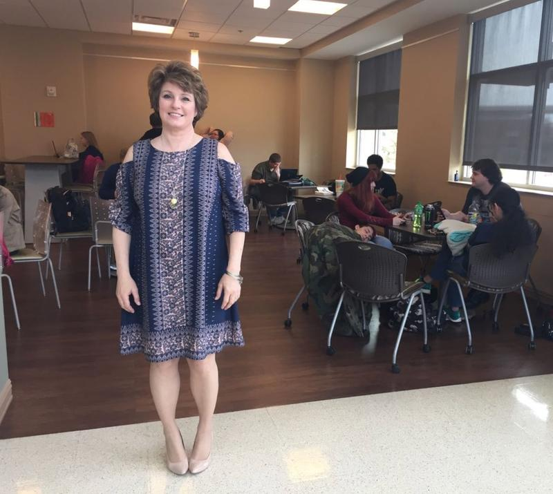 Michelle Griffith is one of about 1,000 adult learners at Motlow State Community College.