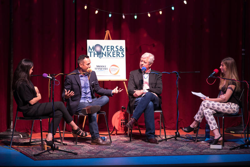 From the live taping of Movers & Thinkers #11: Reinventors at Podcast Party