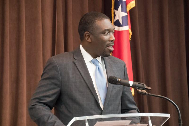 Shawn Joseph is defending his first budget as superintendent of Metro Schools.