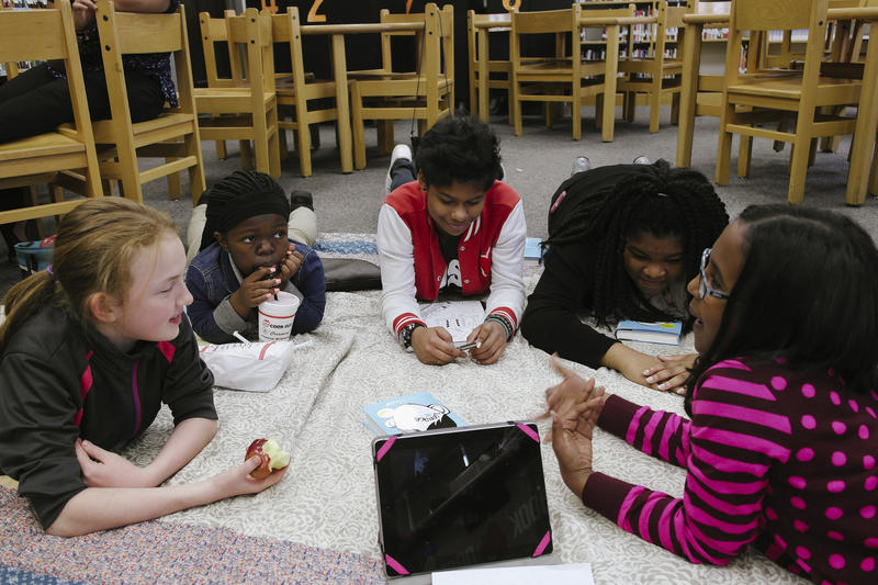Over three years, all middle schools in Nashville are going to be converted to a STEM-focused curriculum.