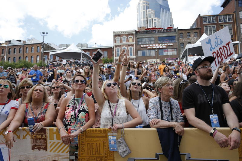 CMA Fest has not gone as far as country music award shows in embracing genre mash-ups.