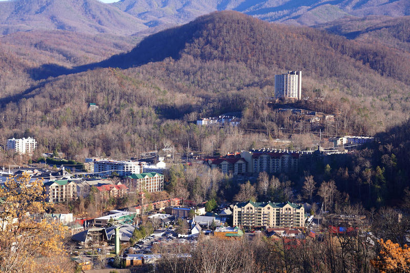 The Great Smoky Mountains National Park is bordered by Gatlinburg and Pigeon Forge. The fire's worst damaged occurred in Gatlinburg.