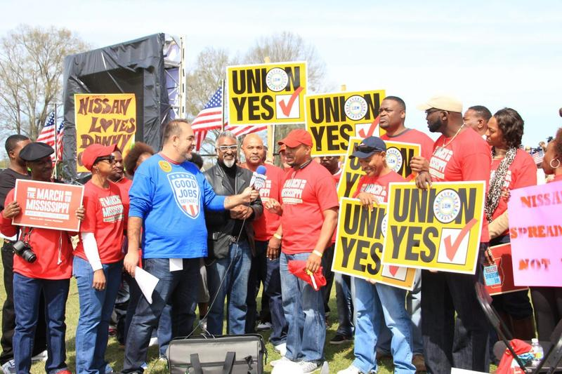 Union organizers have been working for years to lay the groundwork for this week's vote in Canton, Mississippi. But the vote still failed by a wide margin.