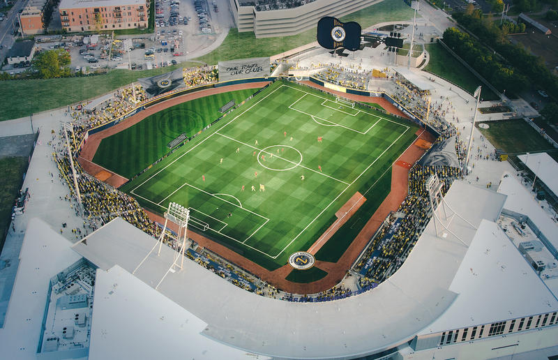 Nashville SC would begin playing at First Tennessee in March, meaning its season would overlap with the Sounds.