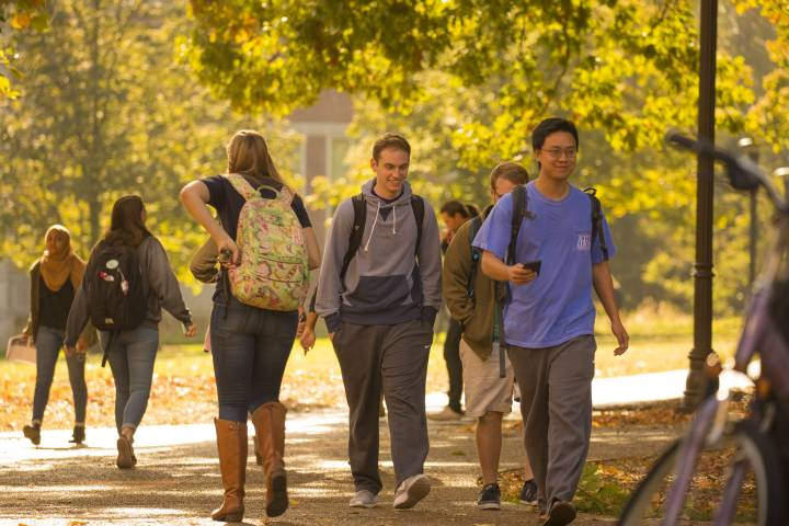 Princeton Review's annual survey found Vanderbilt University has the country's happiest students.
