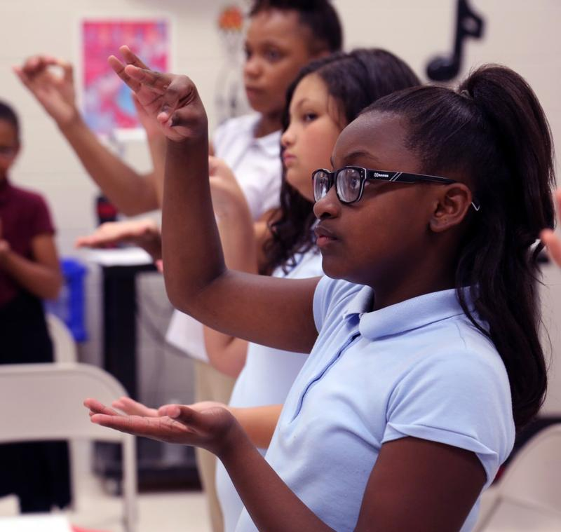 The five schools who will get program help have more minority students than the district average.