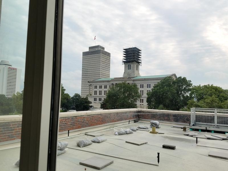 A public area on the top floor offers a view of the Tennessee State Capitol and the William R. Snodgrass Tennessee Tower.