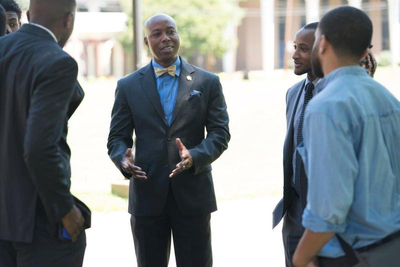 Kevin Rome took the helm of Fisk University this summer after four years as president of Lincoln University in Missouri.