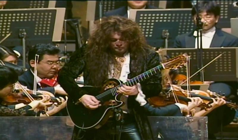 Yngwie Malmsteen performing his Concerto Suite for Electric Guitar and Orchestra with the New Japan Philharmonic in 1997.
