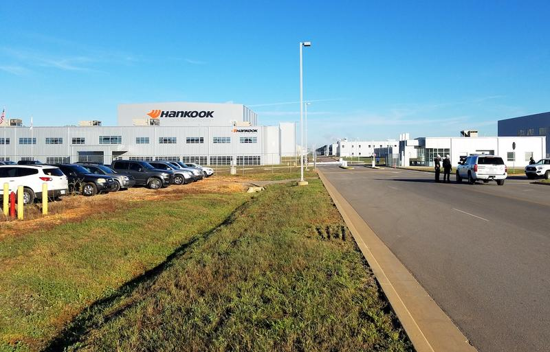 Officials hope Hankook Tire's $800 million facility in Clarksville will eventually churn out 11 million tires a year.