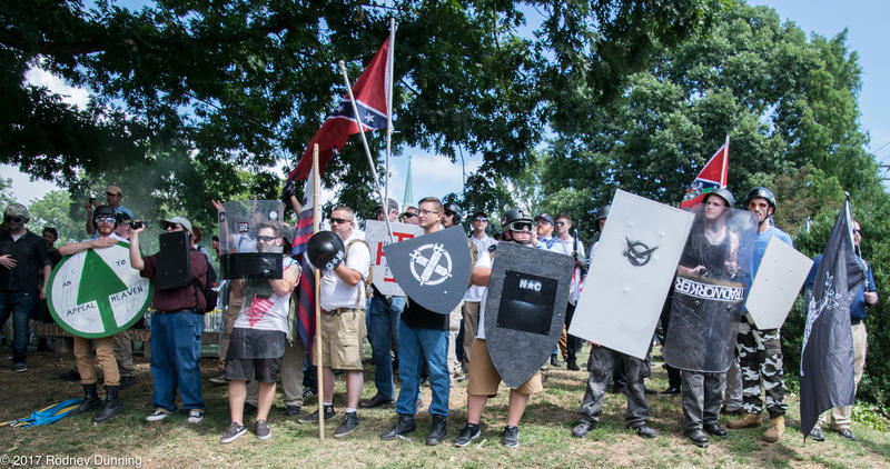 Members of white nationalist and neo-confederate groups, including The League of the South and the KKK, gathered in Charlotesville, Virginia on August 11-12. Violence at the rally resulted in multiple injuries and one death.