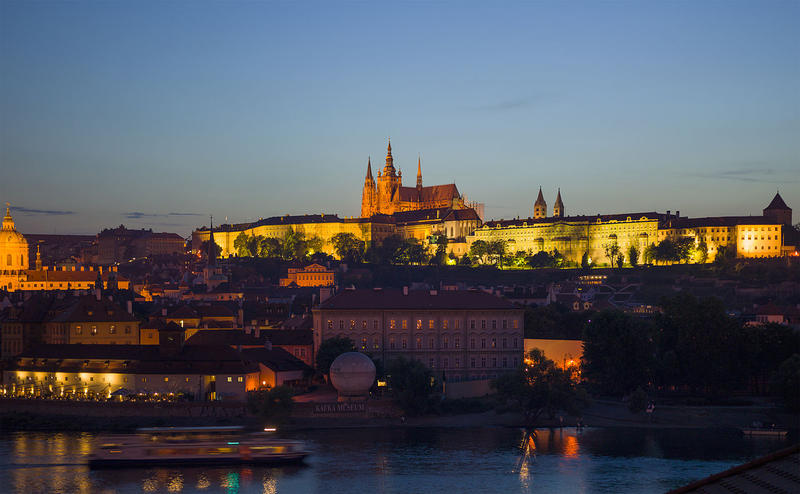 Prague Castle at Dusk