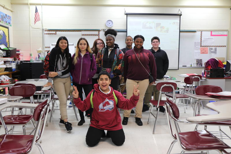Ninth graders at Maplewood High School took a new version of a traditional career placement exam that finds their natural skills using game-like tests online.