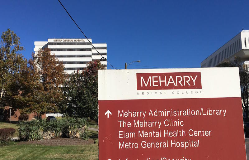 Metro General Hospital is in a tower owned by Meharry Medical College on the school's campus in North Nashville.