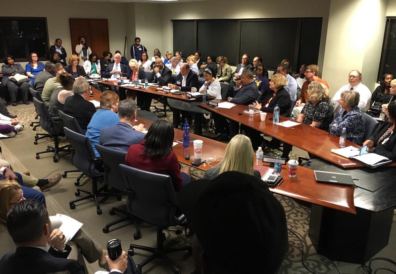 The Nashville Hospital Authority met Friday night for the first time since Mayor Megan Barry announced plans to close Metro General Hospital.