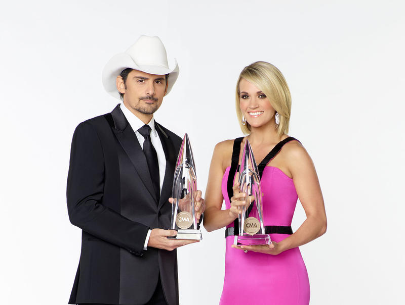 Brad Paisley and Carrie Underwood are the co-hosts of the 51st CMA Awards. Paisley has called on the organization to rescind press guidelines.