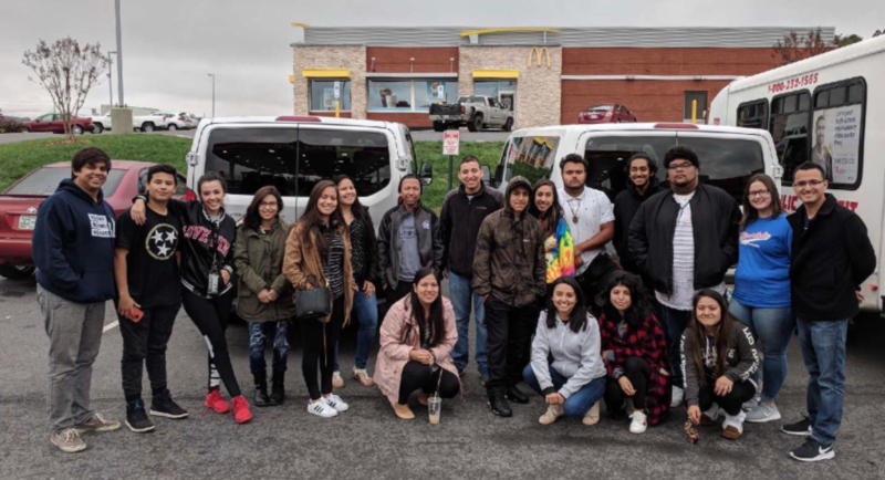 "Tennessee youth are on the road to Washington D.C. to join in national action in support of a ""clean"" DREAM Act."