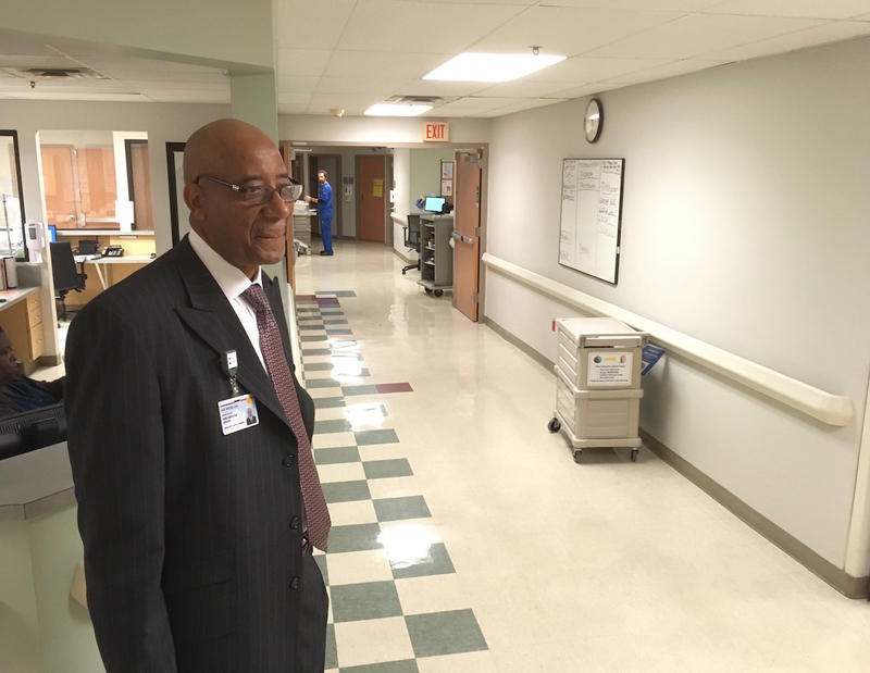 Dr. Joseph Webb is the CEO of Nashville General Hospital and argues that the facility should be maintained as an inpatient hospital, though he say he could run it with or without medical residents.