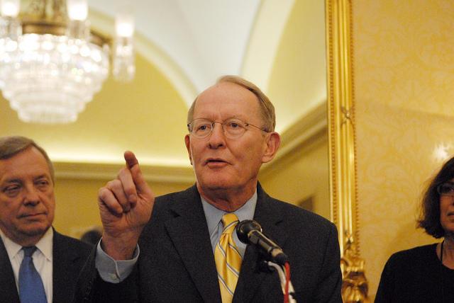 Sen. Lamar Alexander says he thinks the GOP's Tax Bill plan will help the nation's debt.