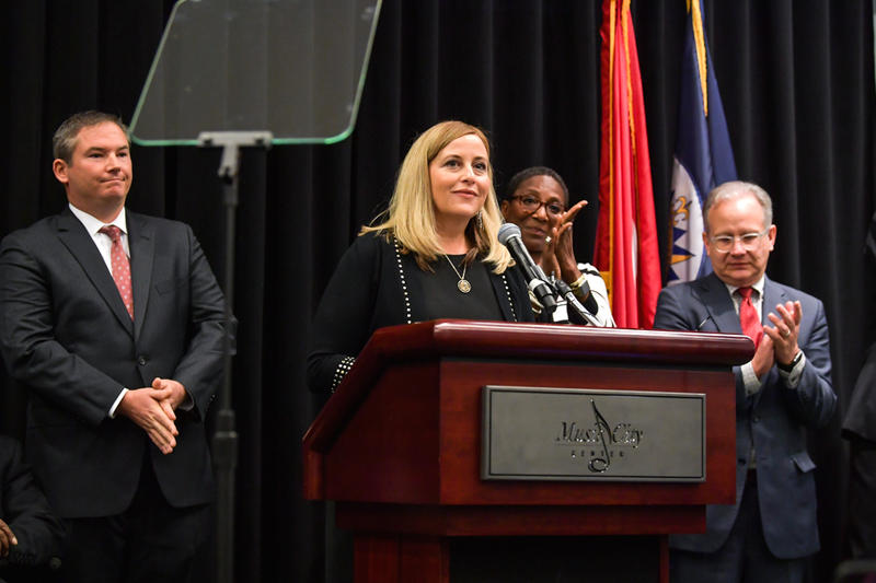 Mayor Megan Barry nashville