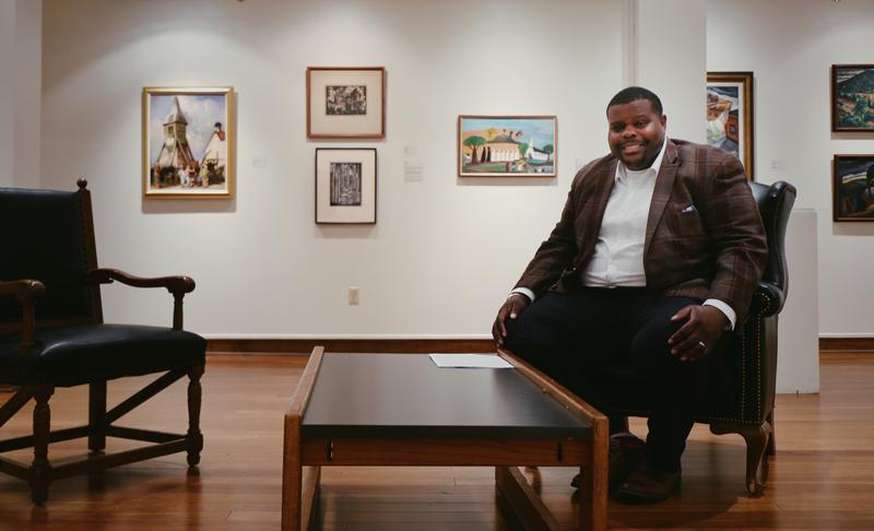 Jamaal Sheats, Director & Curator of Fisk University Galleries, is headlining a diversity initiative to place more students into careers in fine art, including curatorship and conservation.