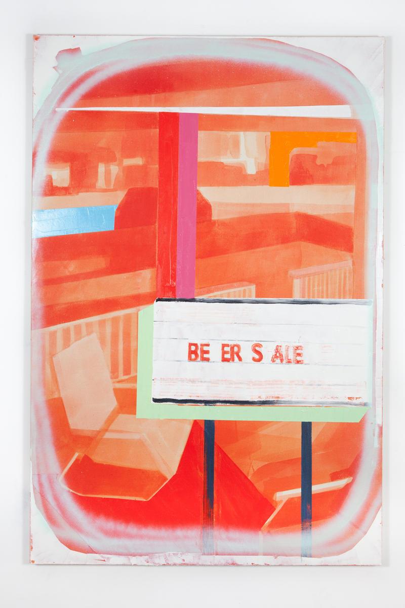 """""""Vista (BE)""""—Originally the center of the triptych"""