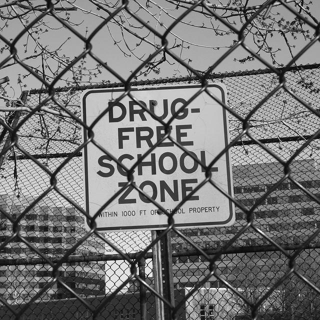 """Drug-free school zones"" were created to protect children from drug dealers. But lawmakers now say the law is being used to levy long, mandatory sentences for low-level drug offenses unrelated to kids."